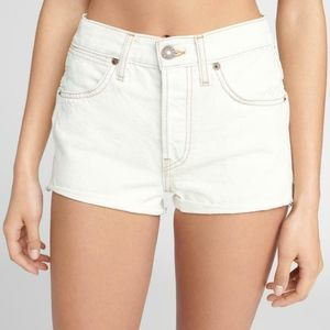 Re/Done Double Needle Western Short Size 25 new